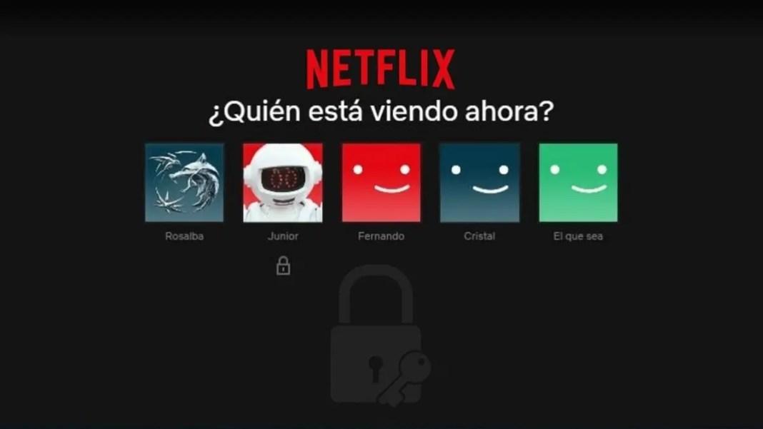 Cómo poner contraseña a un perfil de Netflix