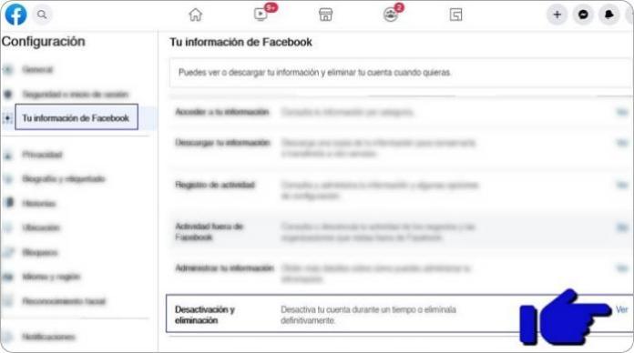 Cómo desactivar Facebook temporalmente