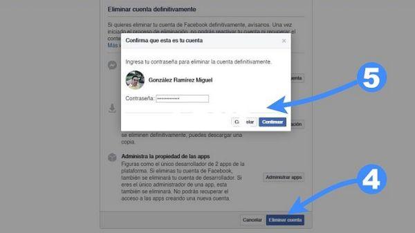 Cómo eliminar Facebook para siempre