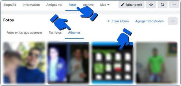 Cómo eliminar un álbum de Facebook.