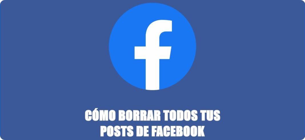 Cómo eliminar todas las publicaciones de Facebook
