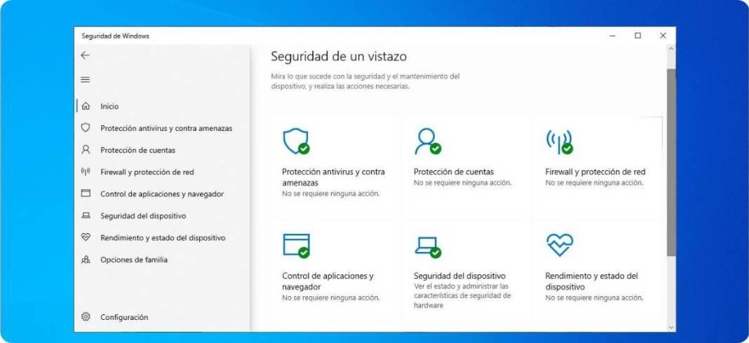 Cómo borrar historial de Windows Defender