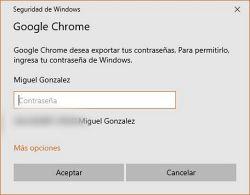 Ingresar la clave de Windows