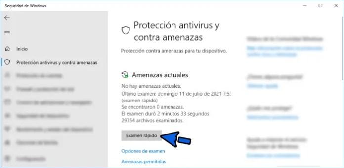 Hacer un análisis y limpieza con el antivirus para solucionar el problema