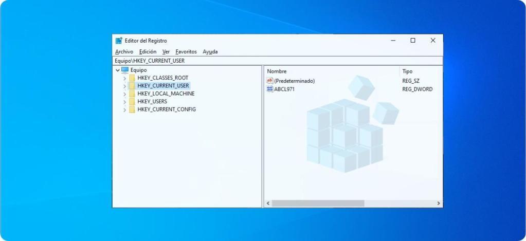 Backup del registro de Windows 10