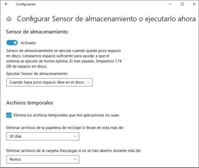 Cómo eliminar archivos temporales en Windows 10