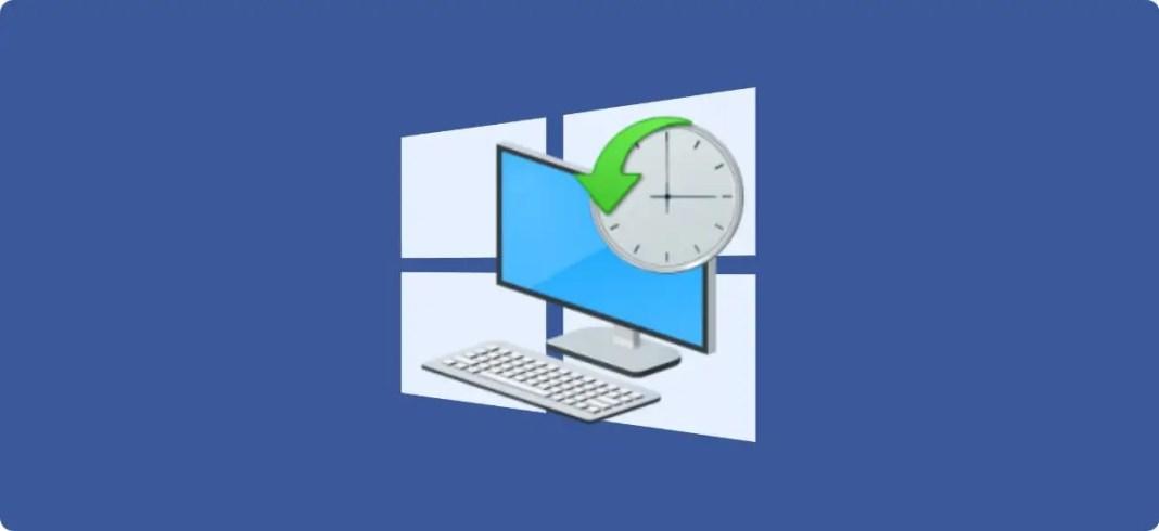 Restaurar el sistema a un punto anterior en Windows 10