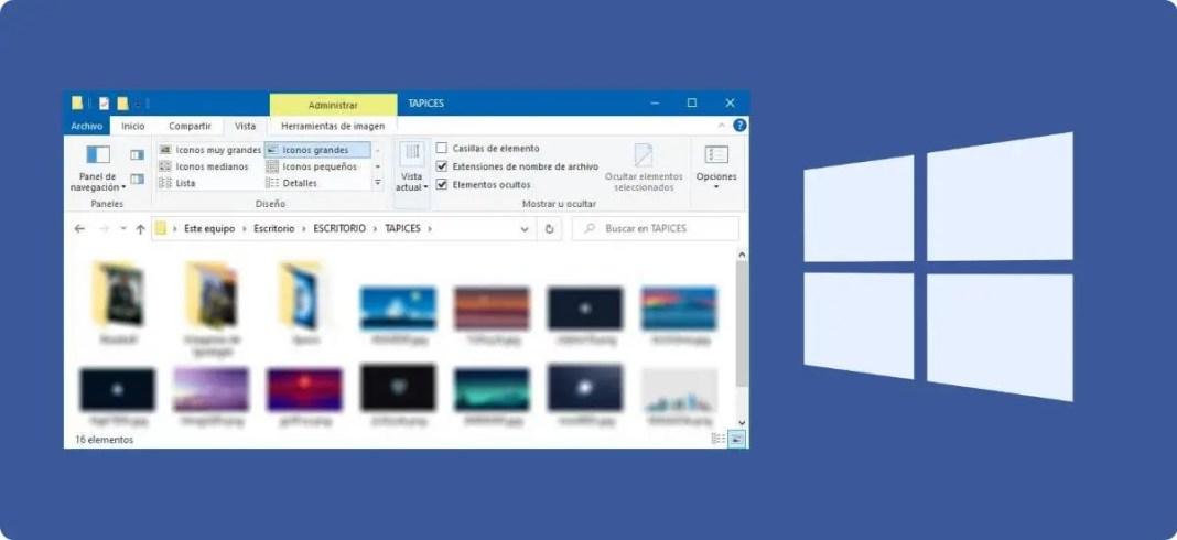 Cómo ver o mostrar archivos ocultos en Windows 10