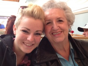 Carrie and Mom reunite for another camino, or path