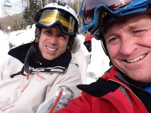 Alejandro and Cameron in Telluride