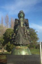 Flot statue i Parque das Nações