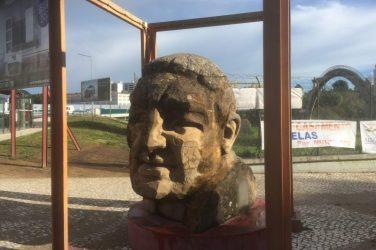 Figur efter Parque das Nações - udkanten af Lissabon