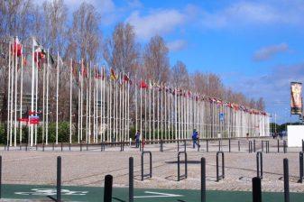 Flagene i Parque das Nações
