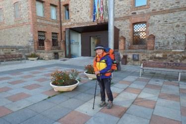 Dag 26 - afsked med Lucy i Astorga - vi så først hinanden igen i Santiago