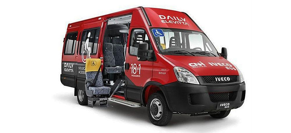 Iveco Daily Elevittá, pensado para pasajeros con movilidad reducida