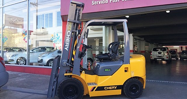 autoelevadores Chery by ZOOMLION