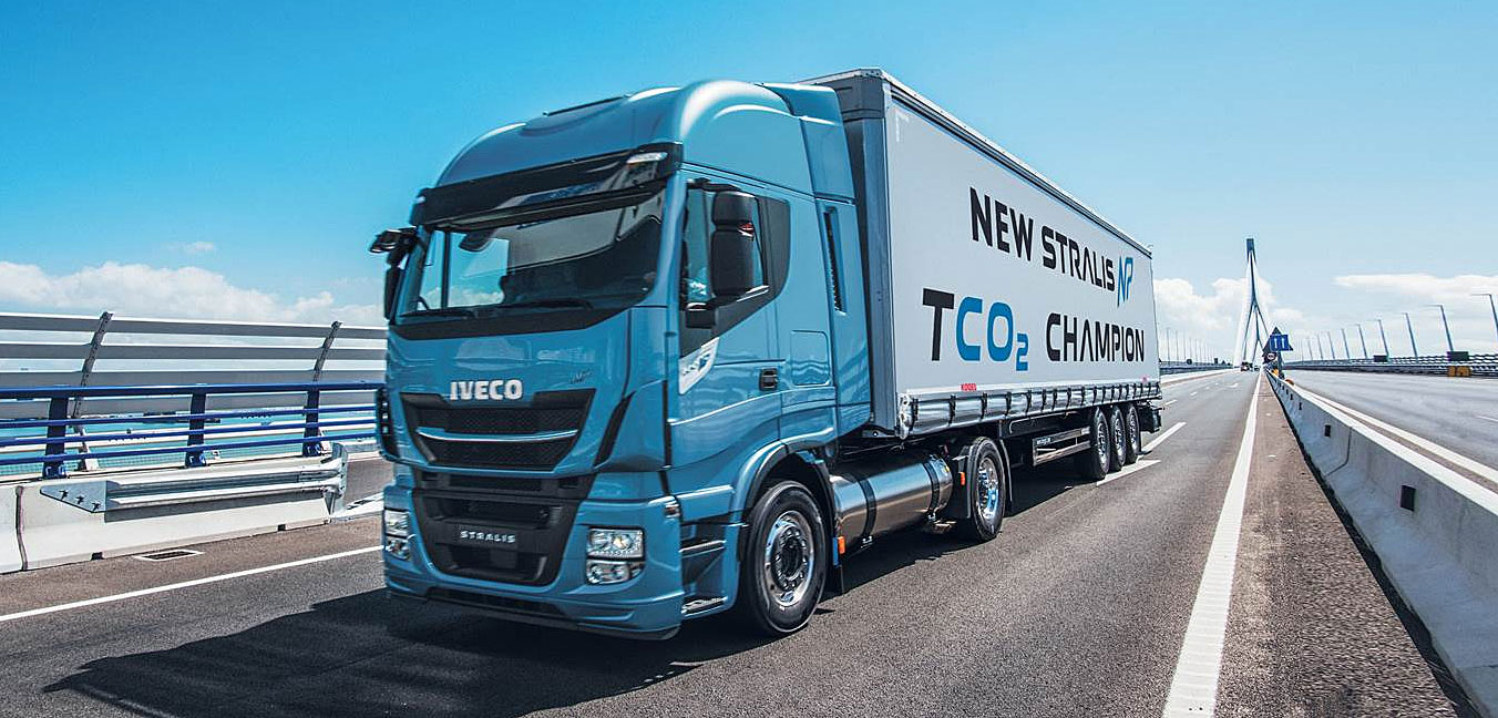 IVECO Stralis NP a gas