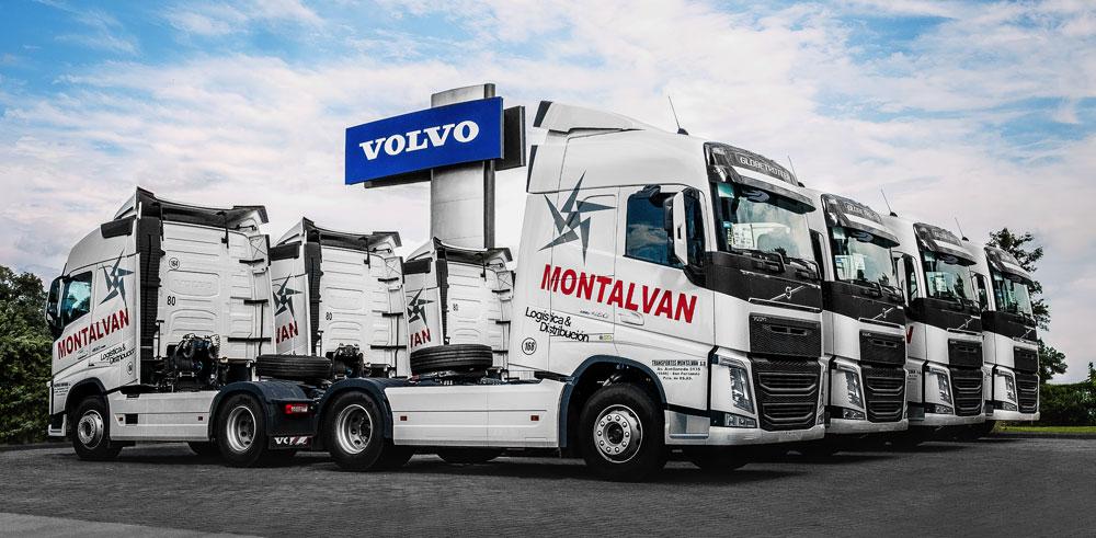 30 Camiones Volvo para la flota de Transportes Montalvan