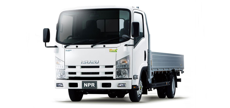 camión Isuzu NPR 75
