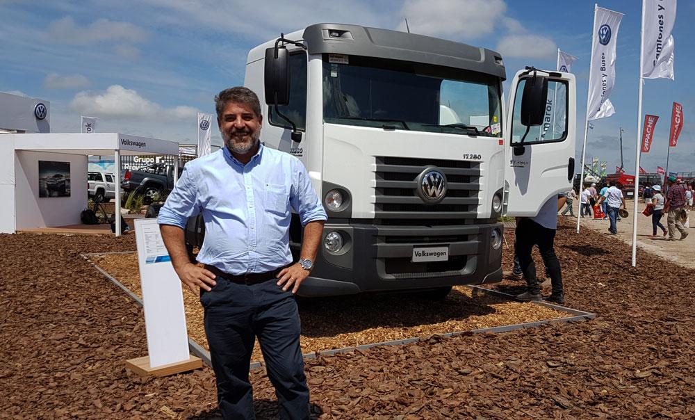 Federico Ojanguren, Gerente General de Camiones y Buses de Volkswagen Argentina