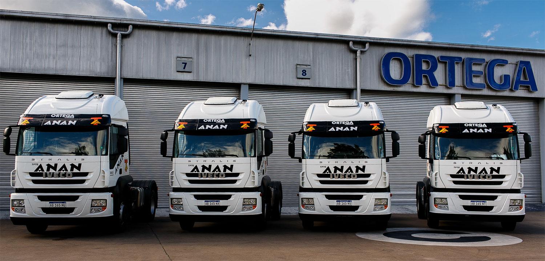 Transportes Anan incorporó seis IVECO Stralis
