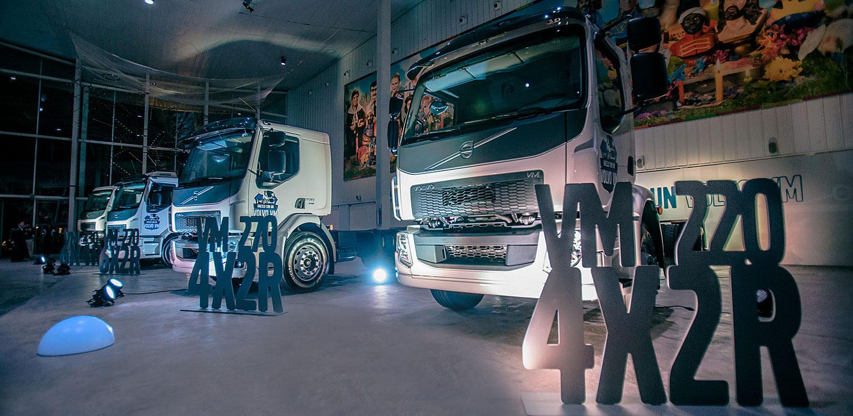 gama volvo camiones