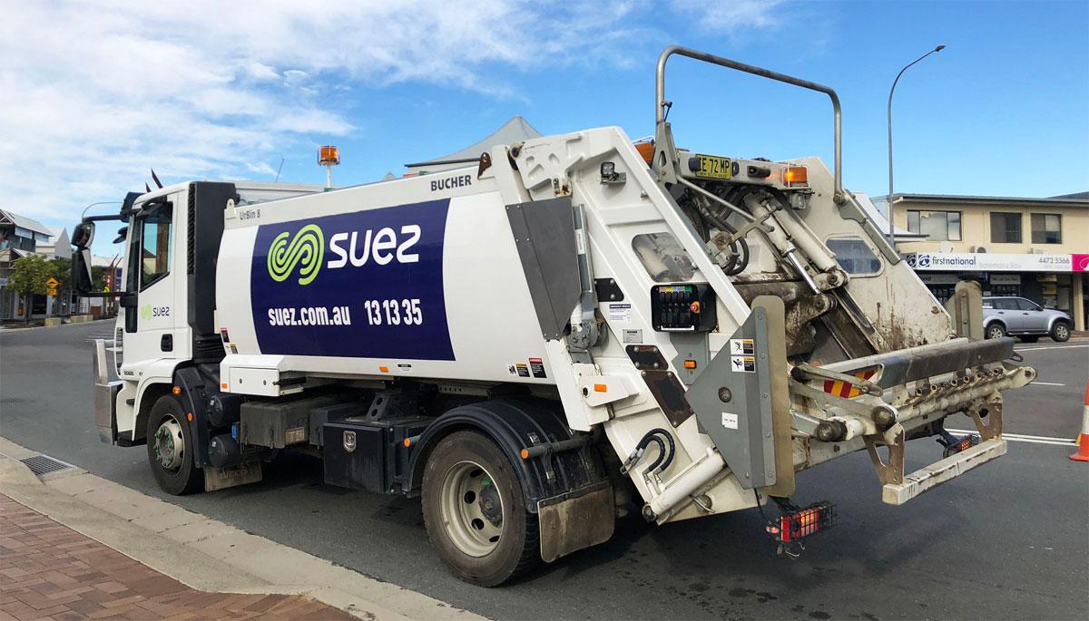 basura camion