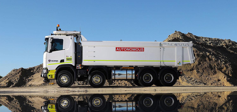 camion autonomo scania