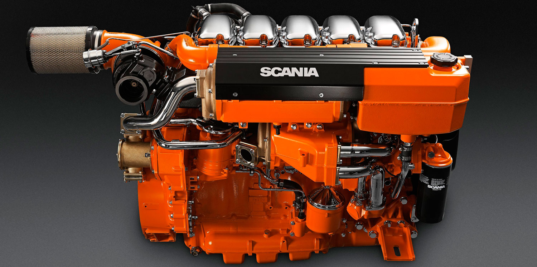 motor scania