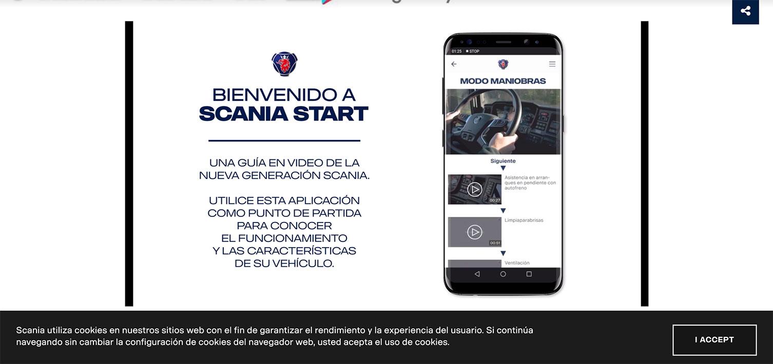 app scania