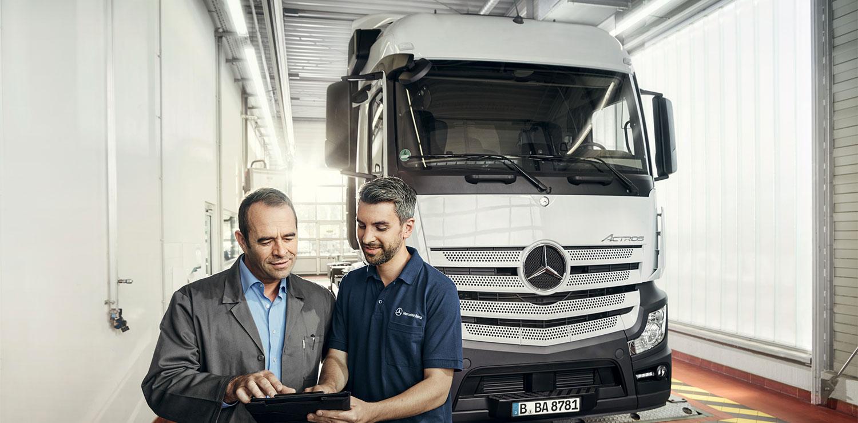 mercedes camiones