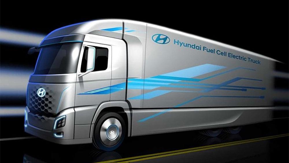 Hyundai H2 Xcient hidrogeno