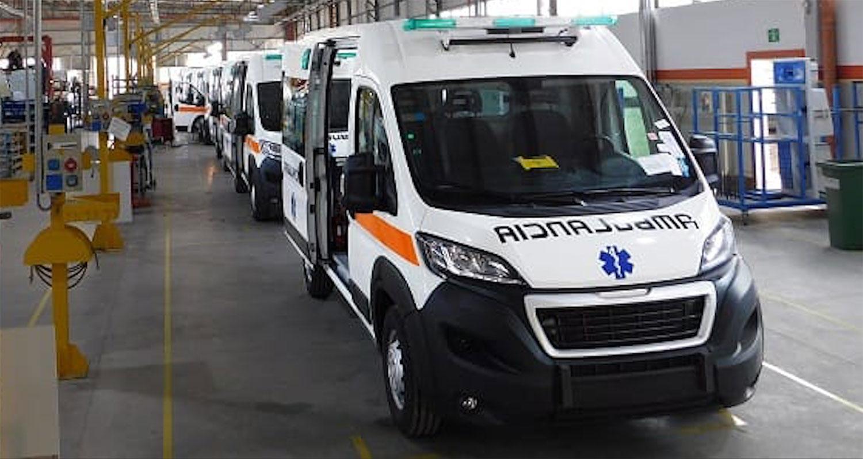 ambulancia peugeot