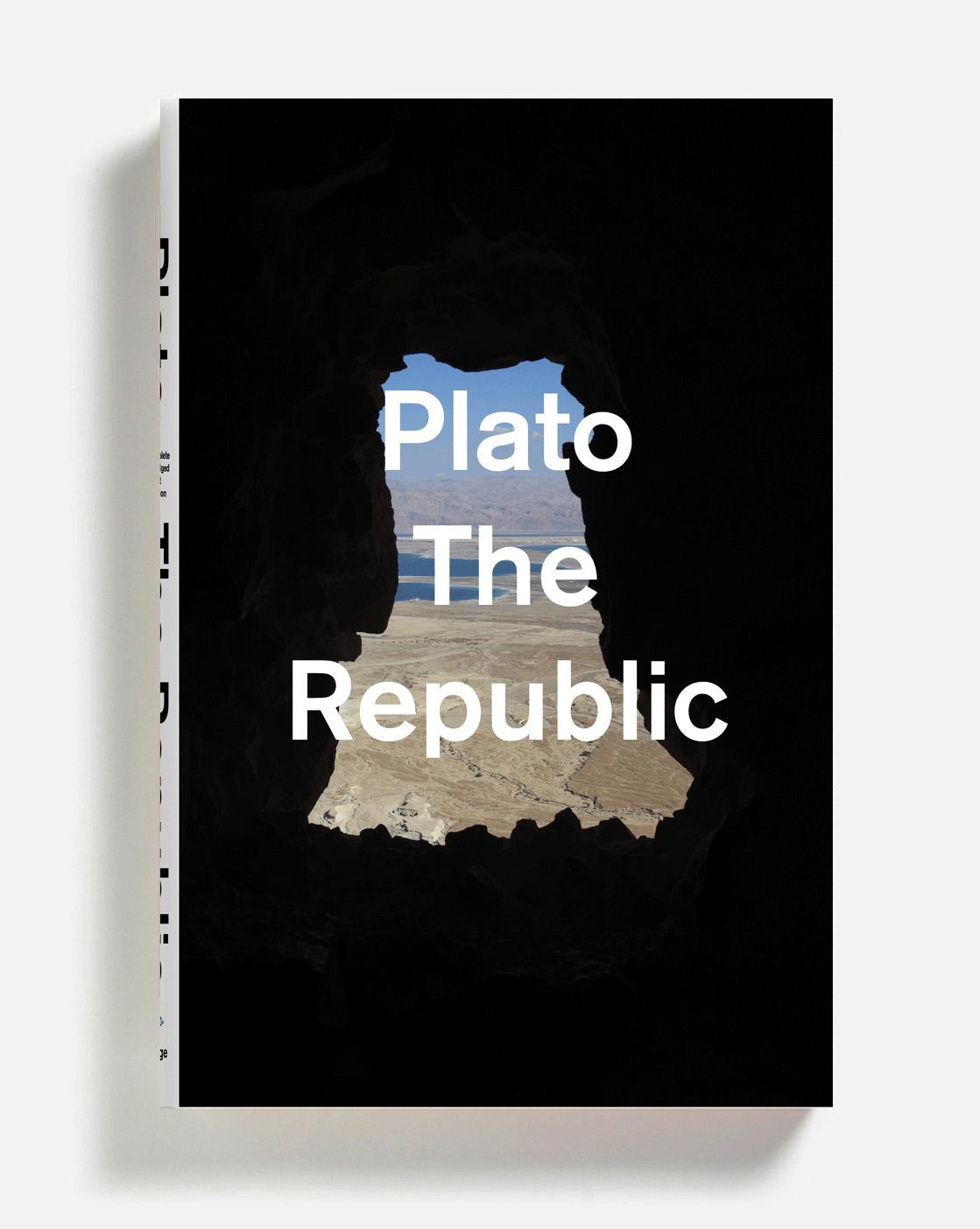 """Republic"" Plato (diseño de cubierta por Peter Mendelsund)"