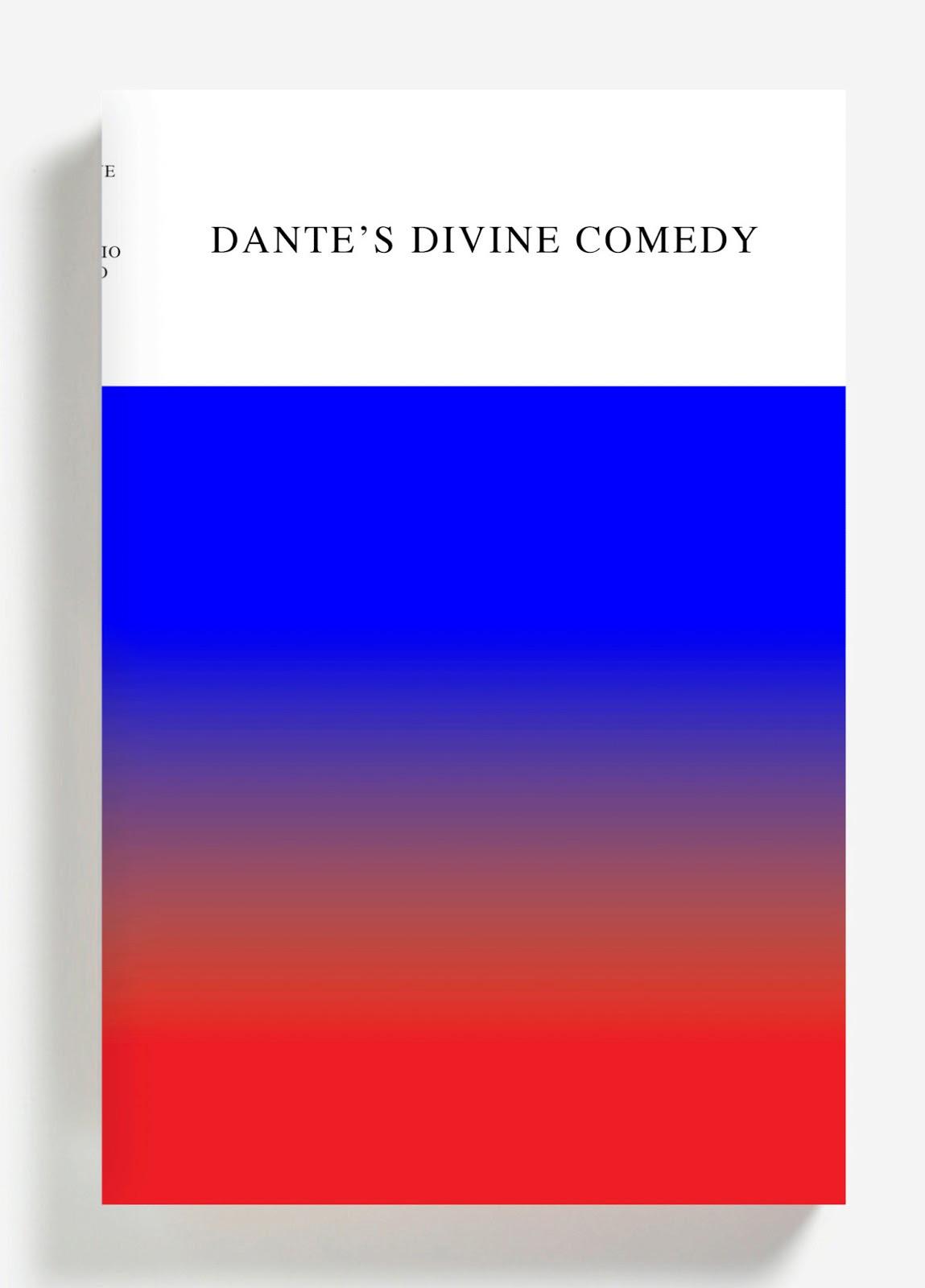 """Dante's Divine Comedy"" (diseño de cubierta por Peter Mendelsund)"