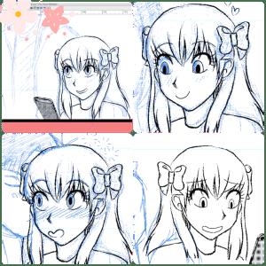 Sakura Chiyo collage