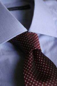 nó de gravata com dimple