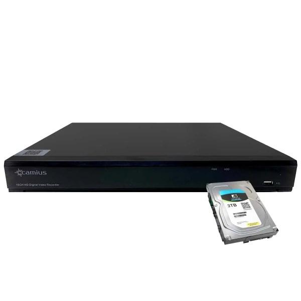 Camius dvr recorder for security cameras TRIVAULT4K2168 3TB