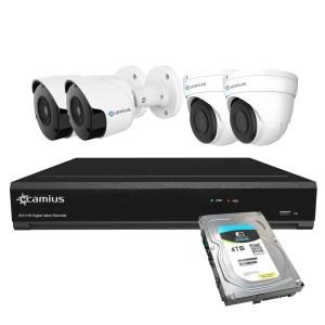 Camius security cameras and dvr