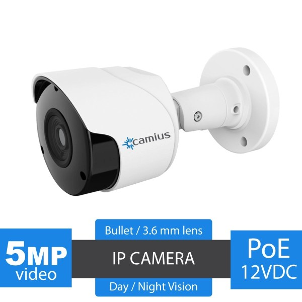 Outdoor IP camera Camius Boltx5pa