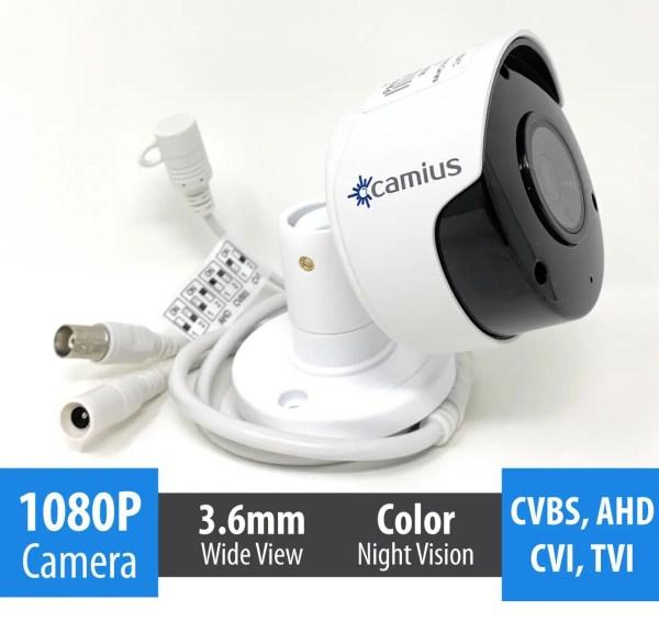 Camius camera 1080p analog outdoor security FB2ATC