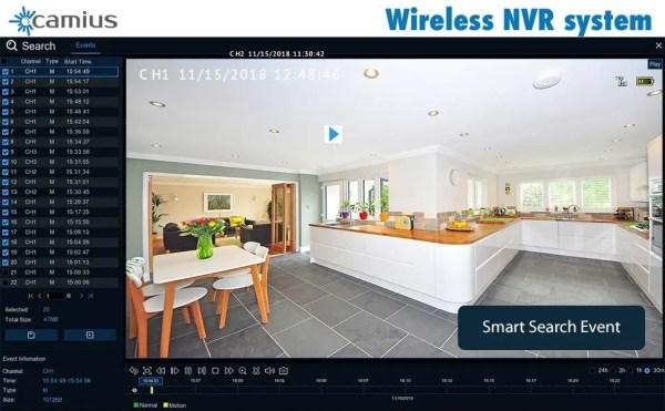 camius wireless NVR