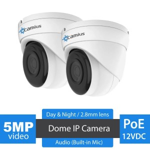 IRIS528A CAMIUS 5MP poe dome ip camera - dome camera
