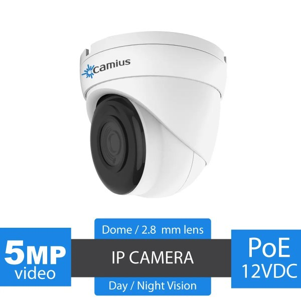 Dome security camera iris528a