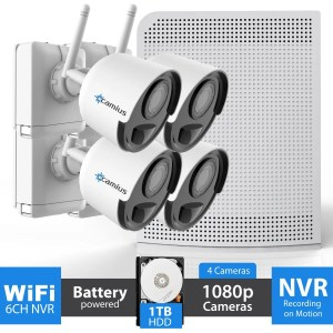4 Wireless battery powered security camera WFL41T