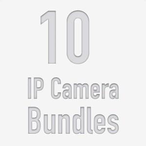 10 Camera PoE NVR Kits
