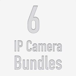 6 Camera PoE NVR Kits