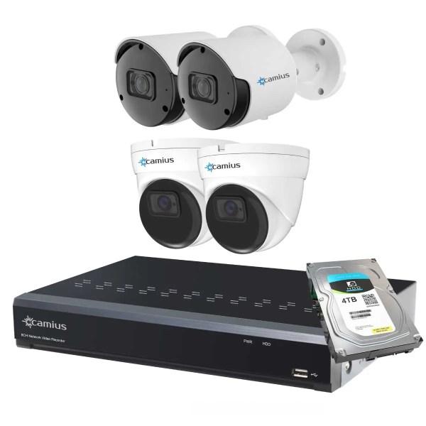 Camius 4 camera security system 8P2B2I5R4T