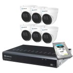 dome security camera system 8P6I5R4T Camius