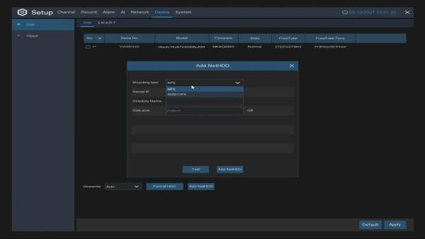 IPVAULT1128P ADD NAS NET HDD